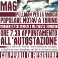 Il 22 maggio a Torino si aprirà il processo a carico di Chiara, Claudio, Mattia e Niccolò accusati di terrorismo per il sabotaggio di un compressore. Attraverso l'accusa di terrorismo […]