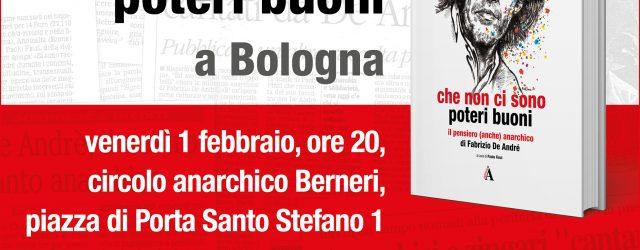"""Ne parliamo con Paolo Finzi, redattore di """"A rivista anarchica"""", curatore del libro e amico storico di Fabrizio. Intervento musicale di Pierluigi Anderlini"""