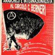 Dalle ore 12 pranzo sociale a offerta libera // benefit per il circolo // menù: crescentine piadine (anche veg) Ore 15 canti internazionalisti e anarchici a squarciagola (rischio karaoke) […]