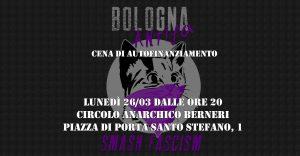 """Benefit """"C'è da far cassa per Bologna Antifa!"""""""