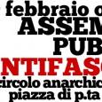 Un anno dopo i fascisti ci riprovano Un anno dopo il tentativo di svolgere un'iniziativa nella sala del Baraccano da parte di CasaPound con la complicità del quartiere Santo Stefano […]