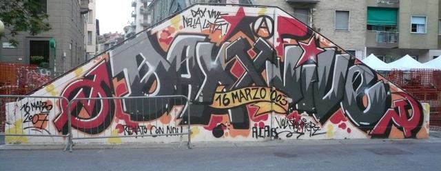 """Murales """"Dax vive!"""""""