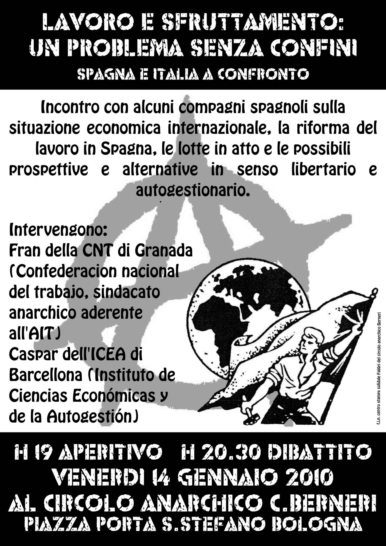 Spagna e Italia a confronto Incontro con alcuni compagni spagnoli sulla situazione economica internazionale, la riforma del lavoro in Spagna, le lotte in atto e le possibili prospettive e alternative […]