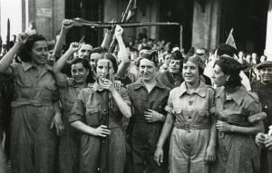 Miliziane della Colonna Garcia Oliver, Barcellona, 1936.