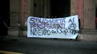 Il 12 novembre a Bologna abbiamo voluto manifestare in modo concreto la nostra solidarietà agli arrestati per i fatti del Primo maggio NoEXPO a Milano. È stato quindi convocato un […]