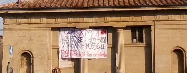 Tutt* in strada il 29 giugno Appuntamento in piazza XX settembre alle ore 16. Ancora in strada, ancora a fianco di XM24, ancora a difesa dell'agibilità per gli spazi sociali […]